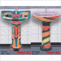 Multi Colour Wash Basin