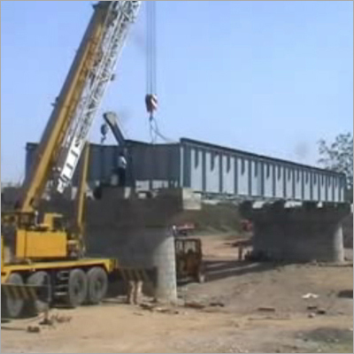 Steel Girder Bridge Erection