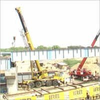 Fly Over Bridge Erection
