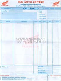 Tax Invoice Double Colour