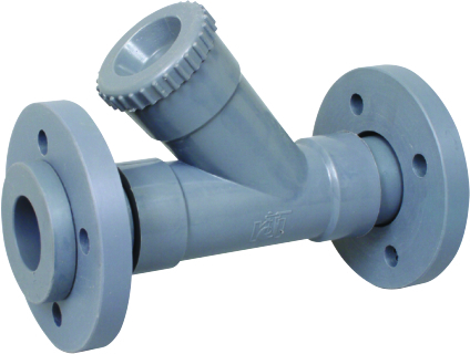 Pp Y Type Strainer Flange End.