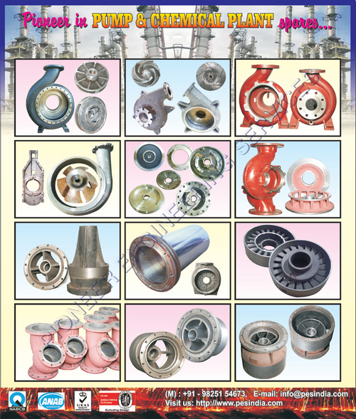 Casted Chemical Plant Spares