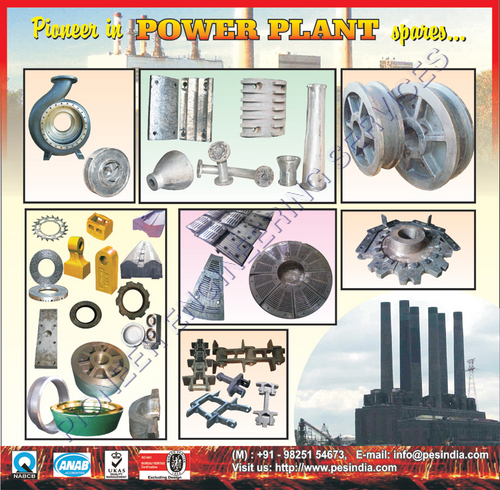 Casted Power Plant Spares