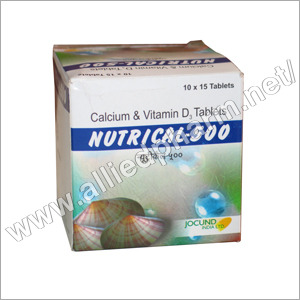 Calcium & Vitamin D Tablets