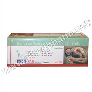 Diclofenac Sodium & Paracetamol Tablets