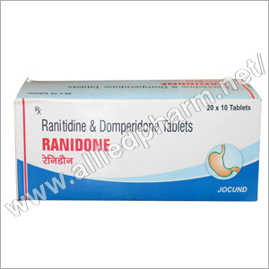 Ranitidine & Domperidone Tablets