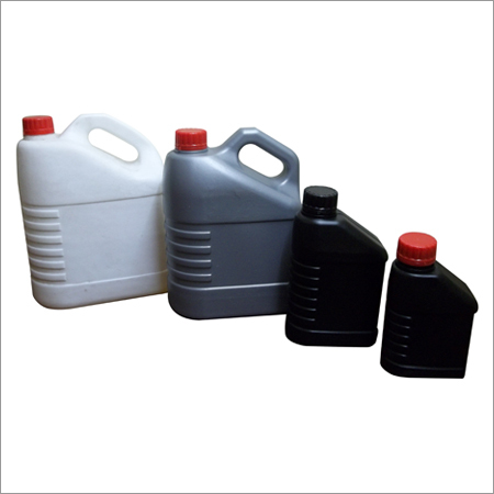 Plastic Lubricant Oil Bottle
