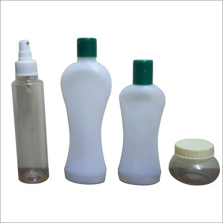 Plastic Shampoo and Hair Oil Bottle