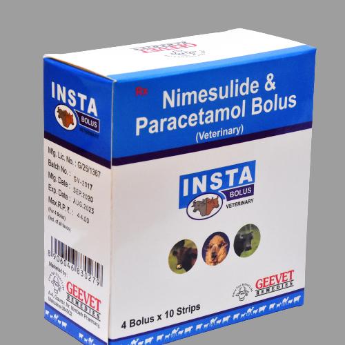 Nimesulide Paracetamol Bolus