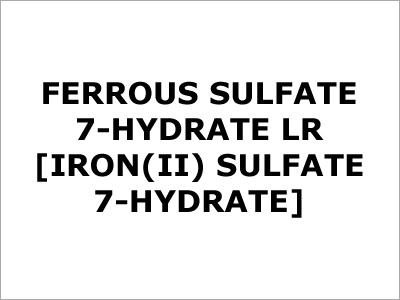 Ferrous Sulfate 7 Hydrate LR