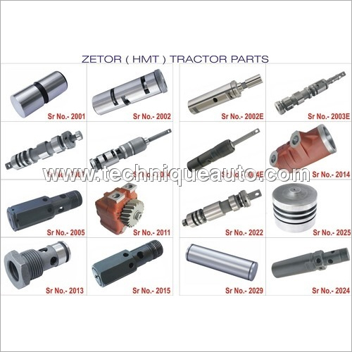 Zetor HMT Tractor Hydraulic Parts