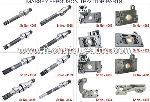 Massey Ferguson Tractors Hydraulic Parts
