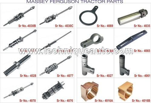 Massey Ferguson Tractors Hydraulic Spares
