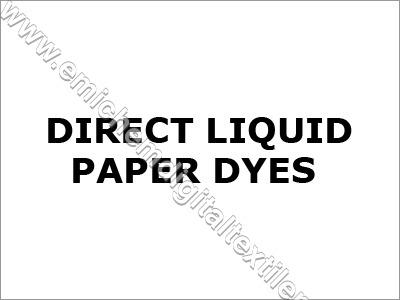 Direct Liquid Paper Dyes