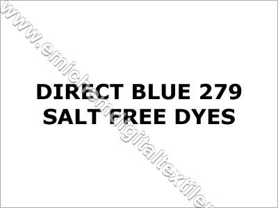 Direct Blue 279 Salt Free Dyes