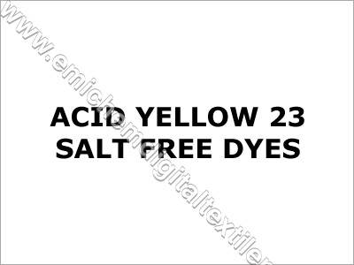Acid Yellow 23 Salt Free Dyes