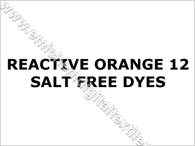Reactive Orange 12 Salt Free Dyes
