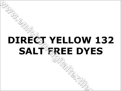 Direct Yellow 132 Salt Free Dyes
