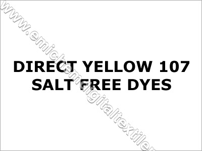 Direct Yellow 107 Salt Free Dyes