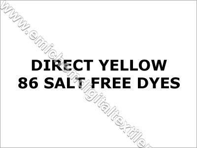 Direct Yellow 86 Salt Free Dyes