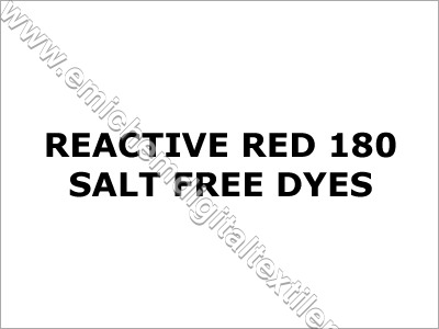 Reactive Red 180 Salt Free Dyes