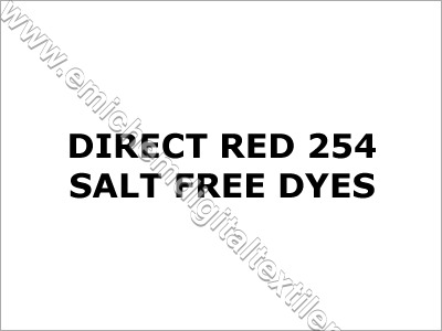 Direct Red 254 Salt Free Dyes