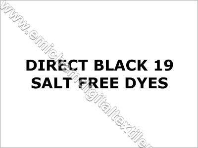 Direct Black 19 Salt Free Dyes