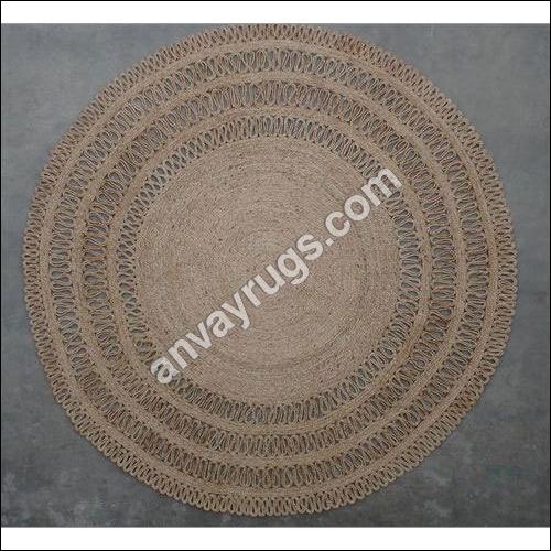 Braided Round jute Rug
