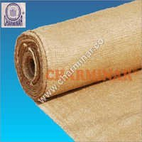 Vermiculite Coated Ceramic Cloth With S.S. Wire