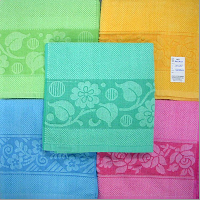 Solid Jacquard Towels