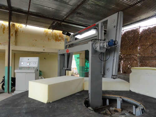 Automatic Rotary Foam Cutting Machine