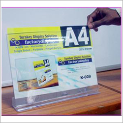Acrylic Paper Displays