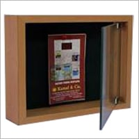 Pin Board With Glass Enclosure