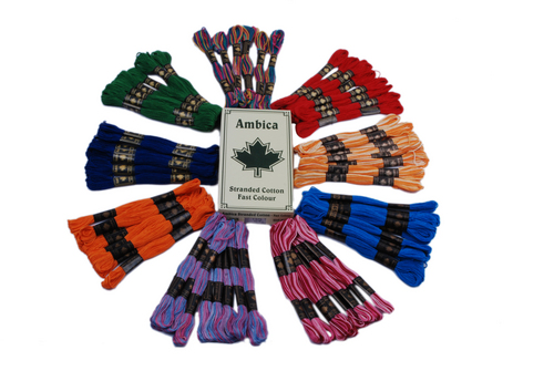 STRANDED COTTON SKEINS LACHI