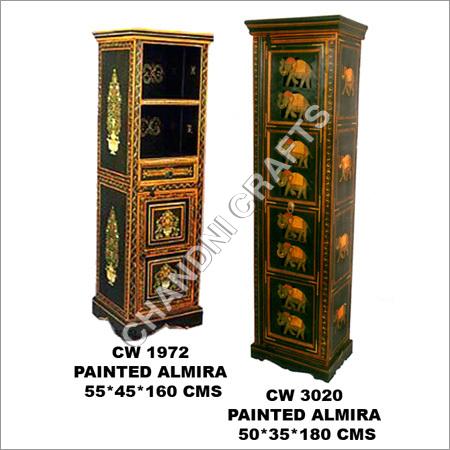 Wooden Painted Almirah