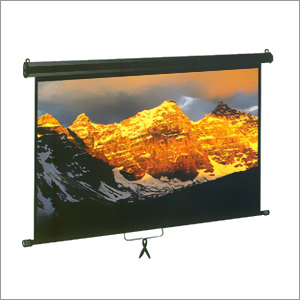 Manual Projector Screen
