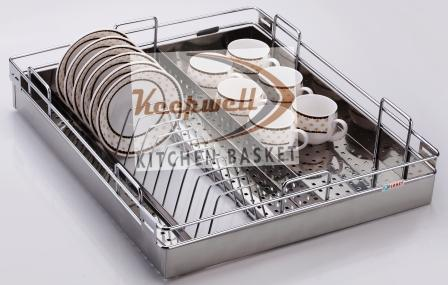 Perforated Cup & Sauccer Kitchen Basket