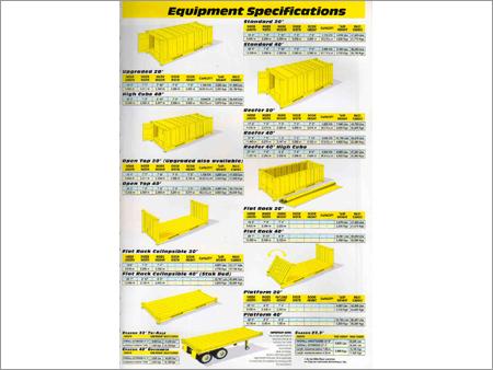 Cargo Equipment Specification