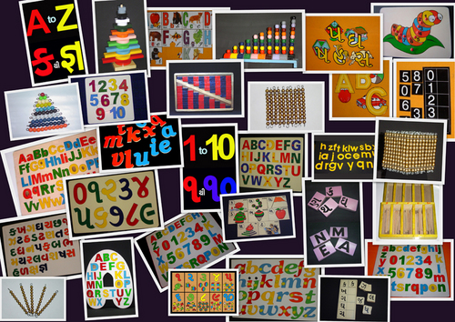Alphabets & Numbers