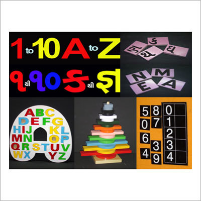 Coloured Alphabets & Numbers