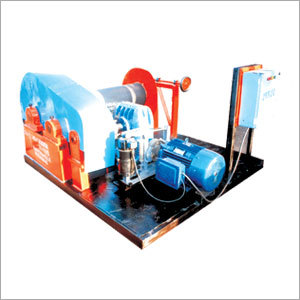 Electrically Operated Power Winches
