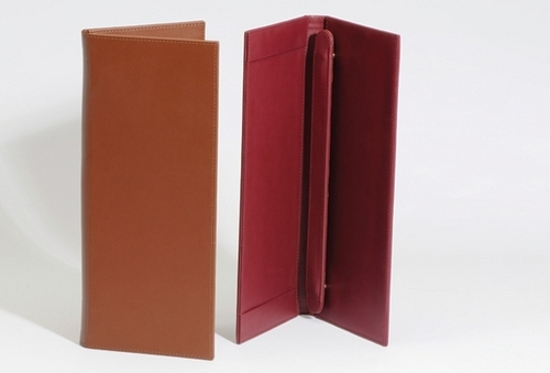 Leather Letter/File Holder