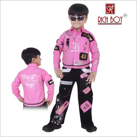 Boy's Cotton Full Suit