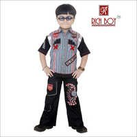 Boys Casual Cotton Full Suit
