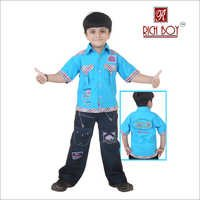 Boy's Casual, Cotton Full Suit