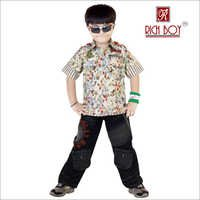 BOY'S CAUSAL COTTON FULL SUIT