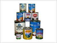Dairy Tin Containers