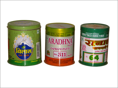 Tobacco Tin Container