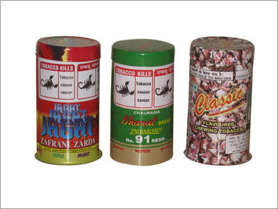 Tobacco Tin Containers