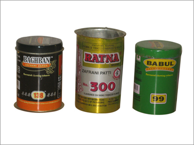 Polished Tin Containers